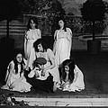 High School Play, Original Caption Miss by Everett