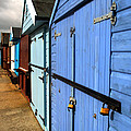 Highcliffe Beach Huts by Chris Day