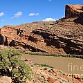 Hiking The Moab Rim by Gary Whitton