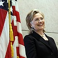 Hillary Clinton Speaks At The U.s by Everett