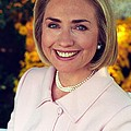 Hillary Rodham Clinton In A White House by Everett
