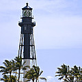 Hillsboro Inlet Lighthouse by Mike Fitzgerald