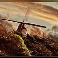 Hillside Windmill by Blake Richards