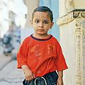 A Brahmin Boy by Shaun Higson