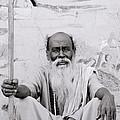 Hindu Holyman In Benares by Shaun Higson