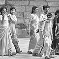 Hindu Pilgrims In Madurai by Valerie Rosen
