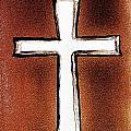 His Cross by Marsha Heiken