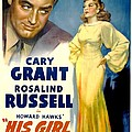 His Girl Friday, Cary Grant, Rosalind by Everett
