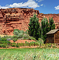Historic Bicknell Grist Mill - Utah by Gary Whitton