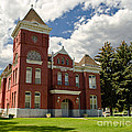 Historic Courthouse Marysvale Utah by Donna Greene
