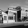 Historic Niles District In California Near Fremont . Main Street . Niles Boulevard . 7d10676  . Bw by Wingsdomain Art and Photography