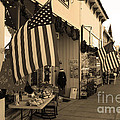 Historic Niles District In California Near Fremont . Main Street . Niles Boulevard . 7d10692 . Sepia by Wingsdomain Art and Photography