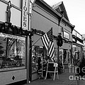 Historic Niles District In California Near Fremont . Main Street . Niles Boulevard . 7d10701 . Bw by Wingsdomain Art and Photography