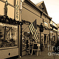 Historic Niles District In California Near Fremont . Main Street . Niles Boulevard . 7d10701 . Sepia by Wingsdomain Art and Photography