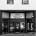 Historic Niles District In California Near Fremont . Niles Essanay Silent Film Museum . 7d10683 Bw by Wingsdomain Art and Photography