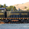 Historic Niles Trains In California . Old Southern Pacific Locomotive . 7d10867 by Wingsdomain Art and Photography