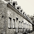 Historic Row Homes Allaire Village by Terry DeLuco