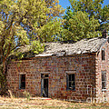 Historic Ruined Brick Building In Rural Farming Community - Utah by Gary Whitton