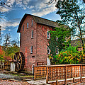 Historic Woods Grist Mill by Scott Wood