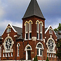 Historical 1901 Uab Spencer Honors House - Birmingham Alabama by Kathy Clark