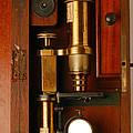 Historical Microscope by Mauro Fermariello