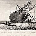 Hms Beagle Ship Laid Up Darwin's Voyage by Paul D Stewart