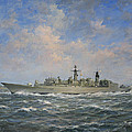 H.m.s. Chatham Type 22 - Batch 3 by Richard Willis