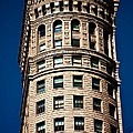 Hobart Building In San Francisco Ll - Colour by Hideaki Sakurai