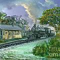Hobe Sound Railroad Station by Richard Nickson