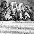 Hogarth: Judges, 1758 by Granger