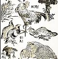 Hokusai: Birds by Granger