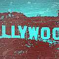 Hollywood Sign by Naxart Studio