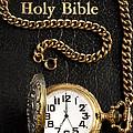 Holy Bible Pocket Watch 1 by John Brueske