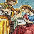 Holy Family At Catholic Church by Munir Alawi
