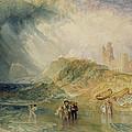 Holy Island - Northumberland by Joseph Mallord William Turner