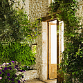 Home Entrance And Courtyard by Andersen Ross