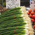 Home Grown Onions by Robert P Hedden