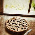Home Made Pie Cooling By Open Window by Jill Battaglia