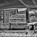 Home On Wheels - Bw by Christopher Holmes