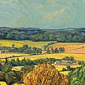 Hommage To Vincent Van Gogh - Zuid Limburg by Nop Briex