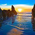 Honda Cove Sunset by Greg Nyquist