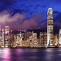 Hong Kong At Night by Dan Breckwoldt