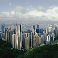 Hong Kong Island And The Bay by Jason Edwards