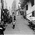 Hong Kong Vintage Street Scene - C 1896 by International  Images