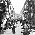 Hong Kong Vintage Street Scene - C 1902 by International  Images