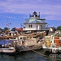 Hooper Strait Lighthouse - Fs000115 by Daniel Dempster