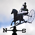 Horse And Buggy Weather Vane by Bill Cannon