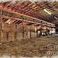 Horse Barn Barbour County by Dan Friend