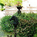 Horse Hitching Post 2 by Nancy Patterson