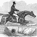 Horse-jumping, 1852 by Granger